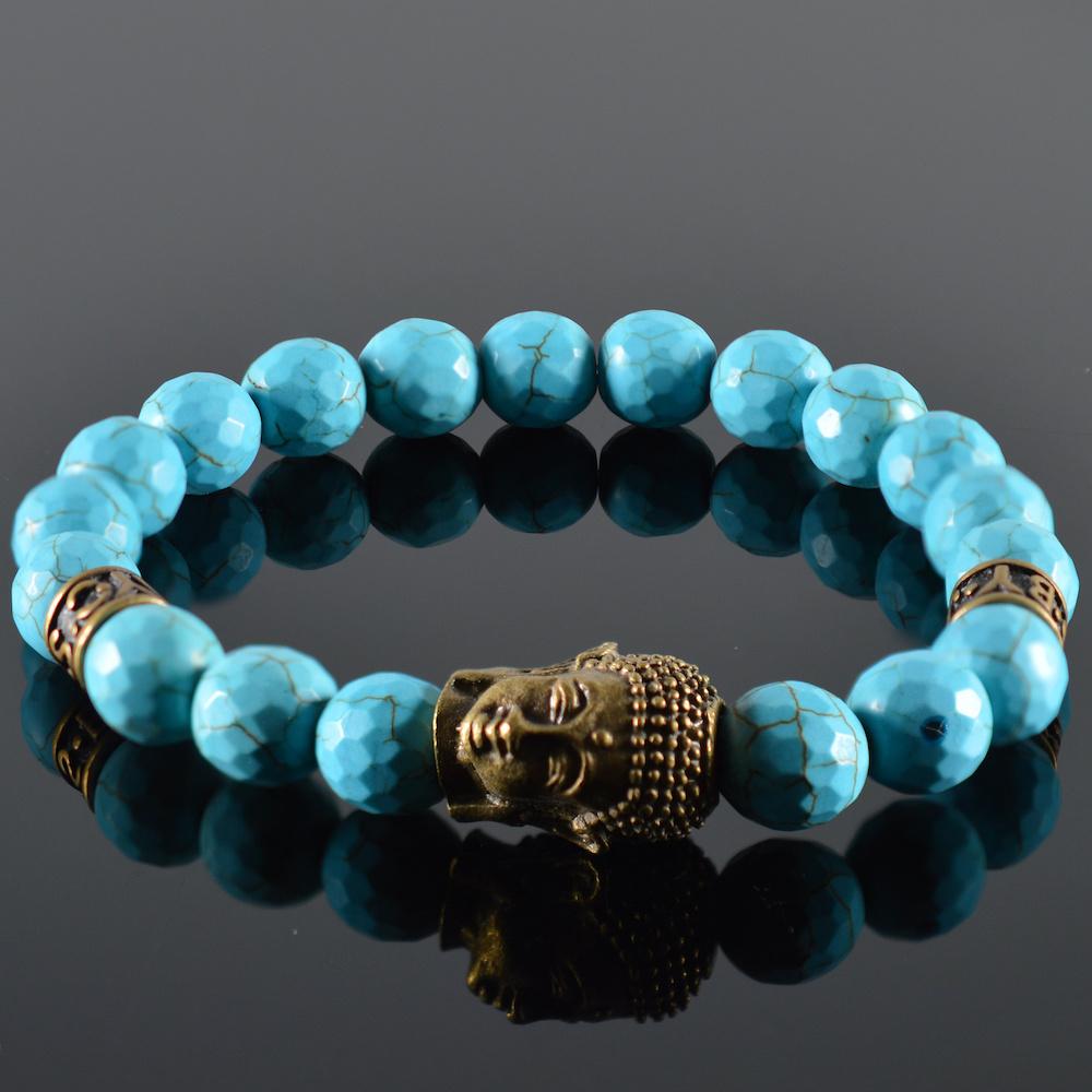 JayC's Bracelet Men Quetre Buddha