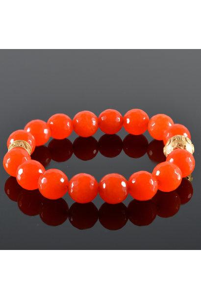 Dames armband  Oranje JayC's