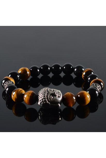 Heren armband Parnell Buddha