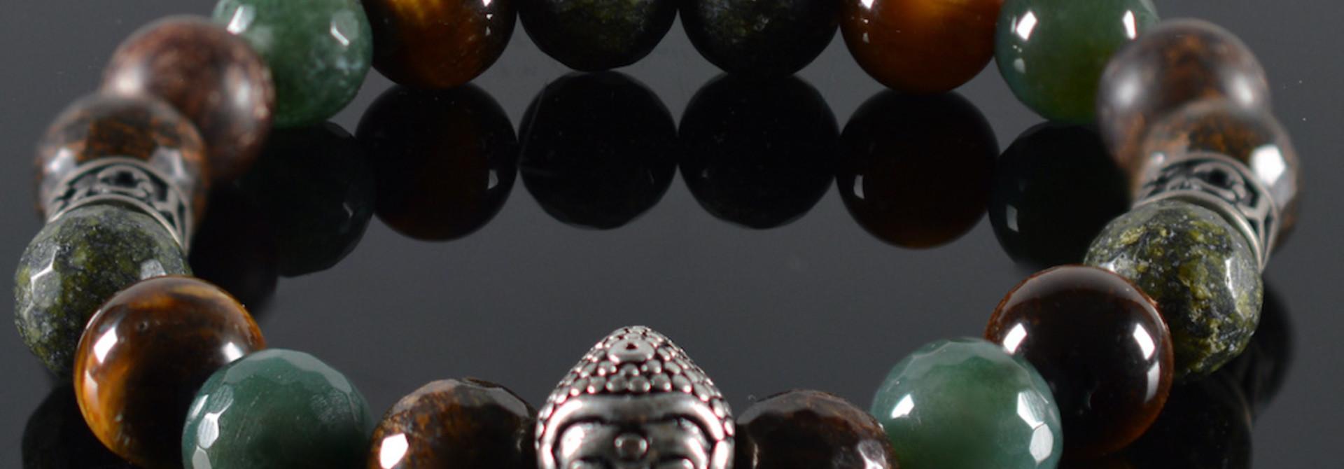 Armband Heren Buddha Mogli