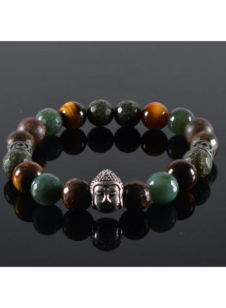JayC's Herren-Armband Mogli Buddha