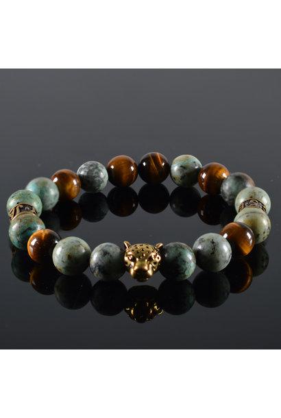Men's bracelet Wildness Panther