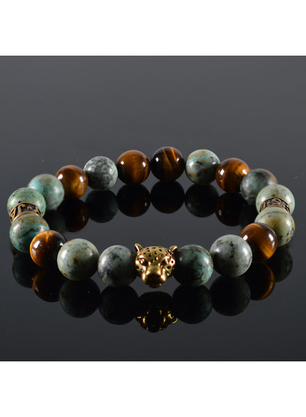 JayC's Men's bracelet Wildness Panther