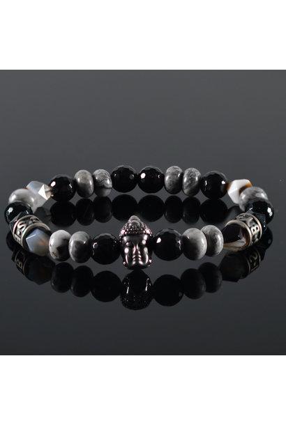 Men's Bracelet  Bianco Buddha