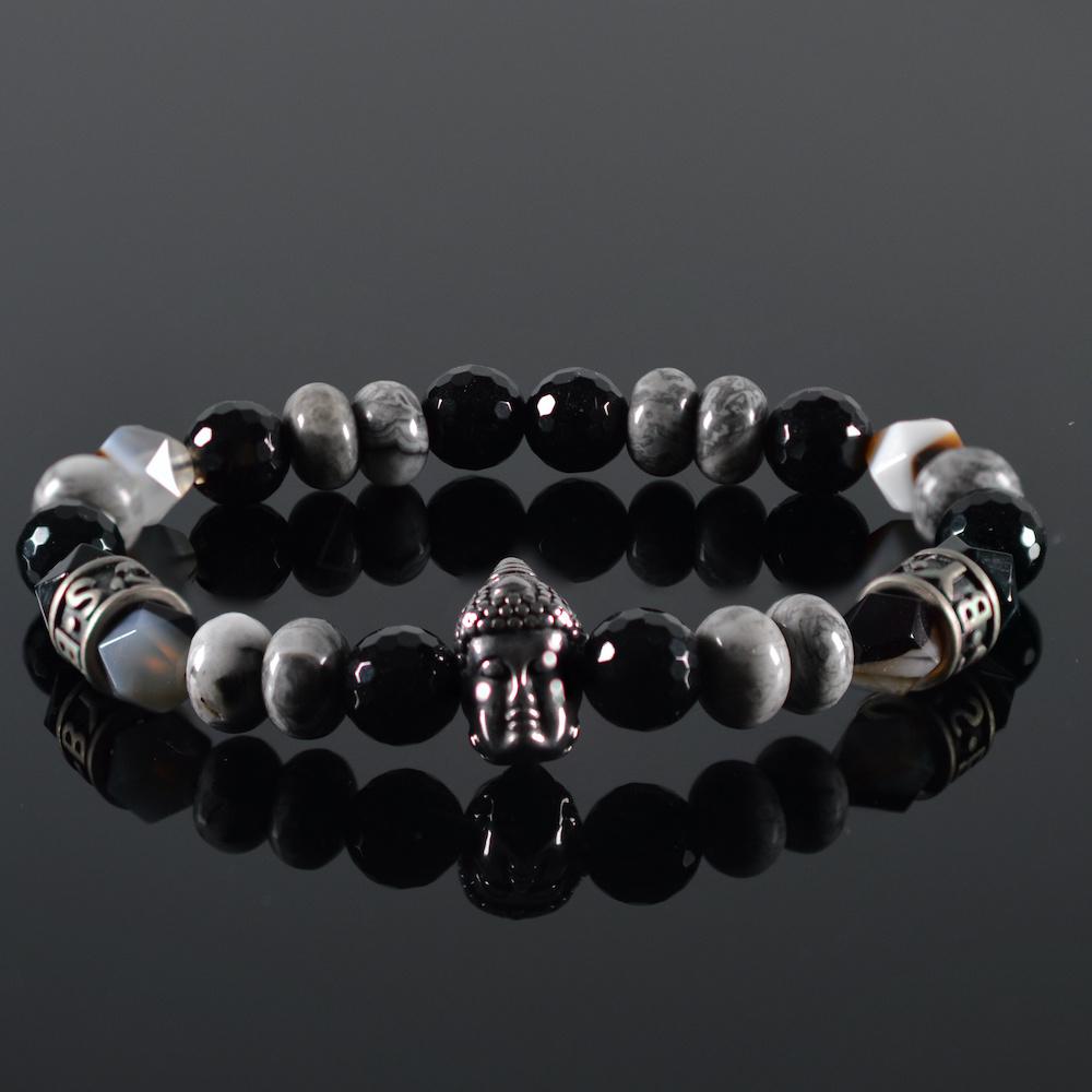 Armband heren  Bianco Buddha-1