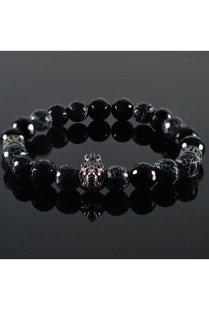 Men's Bracelet Crackle Jack Lionhead