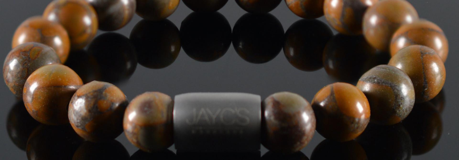 Armband heren  Magnet Caramique