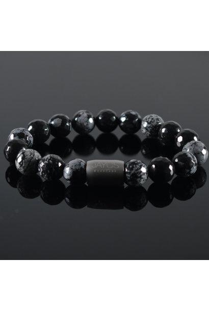 Men's Bracelet  Magnet Snowflakes