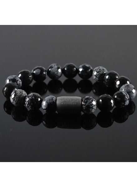 JayC's Men's Bracelet  Magnet Snowflakes