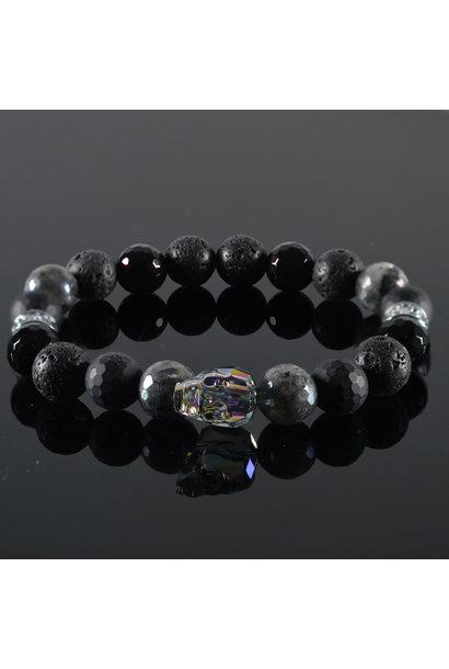 Men's Bracelet Louay Skull