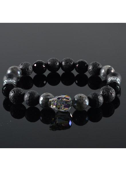 JayC's Men's Bracelet Louay Skull