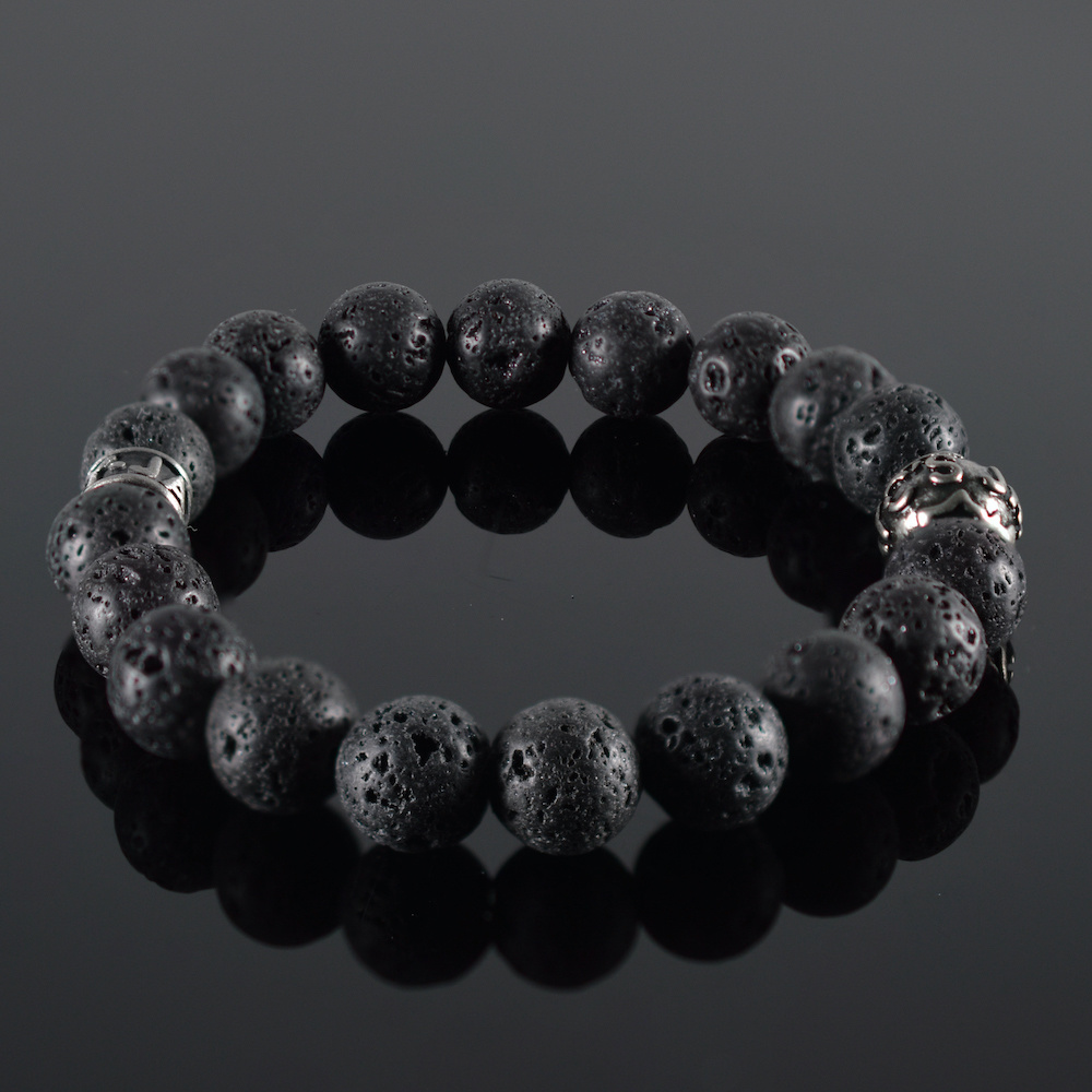 Armband heren Lava Noire II-1