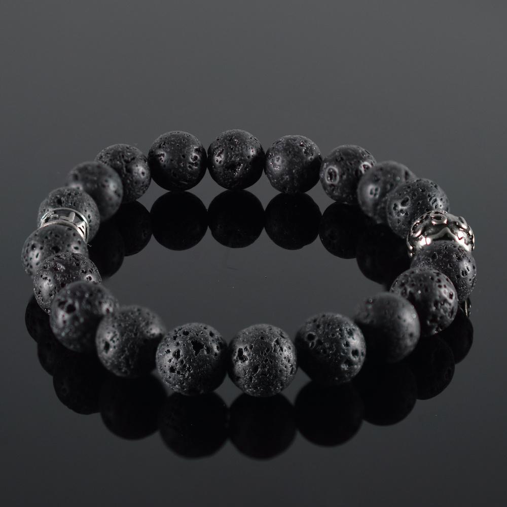 JayC's Bracelet Men Lava Noire II