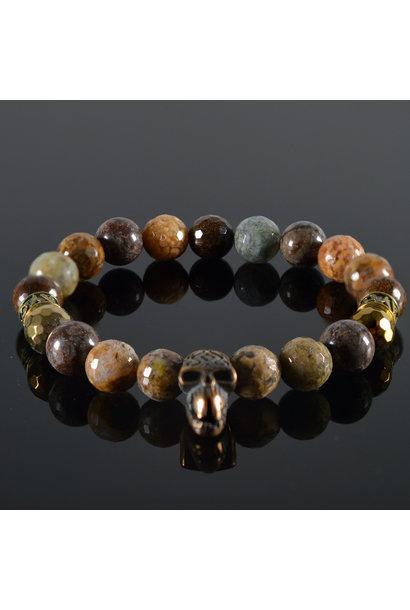 Men's Skull bracelet Maroon 5