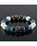 JayC's Men's bracelet Sahara Skull