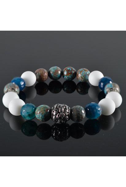 Men's bracelet Sahara Skull