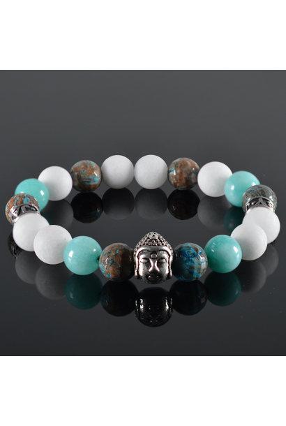 Heren armband Lio Buddha
