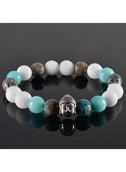 JayC's Men's bracelet Lio Buddha