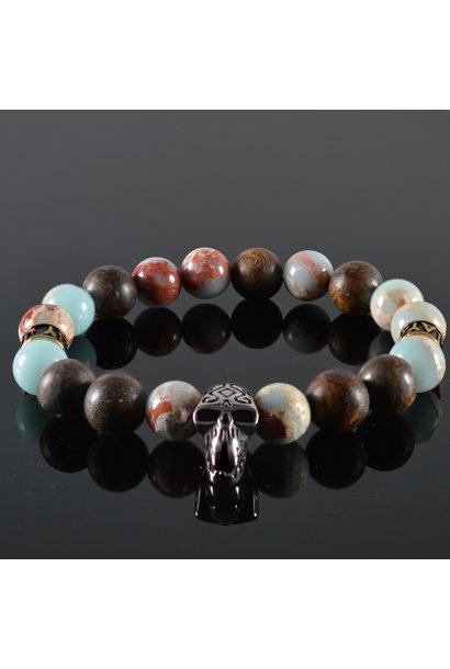 Men's Skull bracelet Bailey
