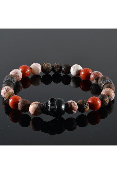 Men's Skull bracelet  Reznor