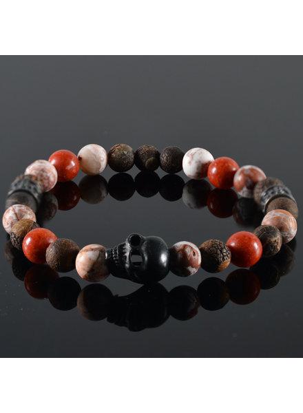JayC's Men's Skull bracelet  Reznor