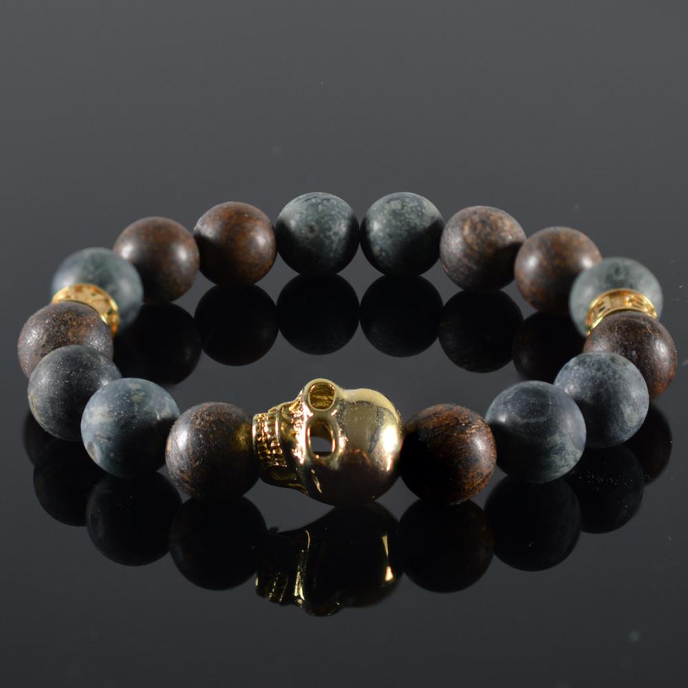 Armband heren Kael Skull-1