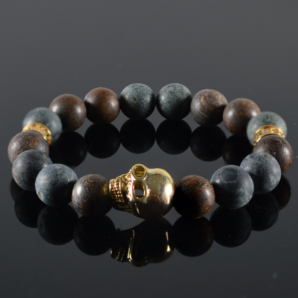 JayC's Bracelet men Kael Skull