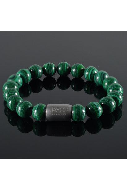 Men's bracelet  Magnet Austin Malachite