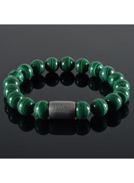 JayC's Men's bracelet  Magnet Austin Malachite