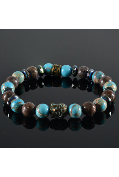 Damen-Armband Emma  Buddha