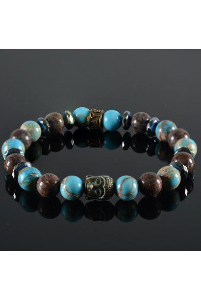 Dames armband Emma  Buddha