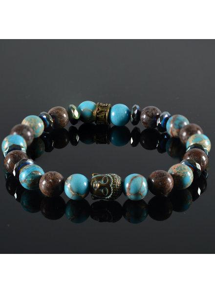 JayC's Damen-Armband Emma  Buddha