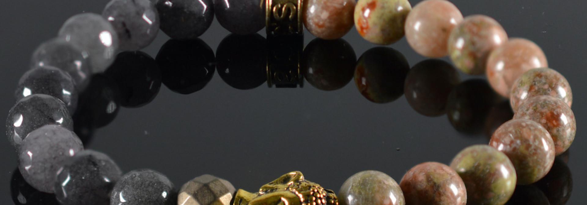 Armband Unisex Pandora Buddha