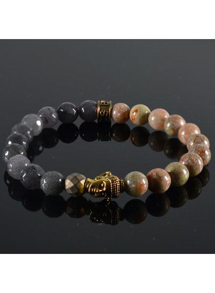 JayC's Armband Unisex Pandora Buddha