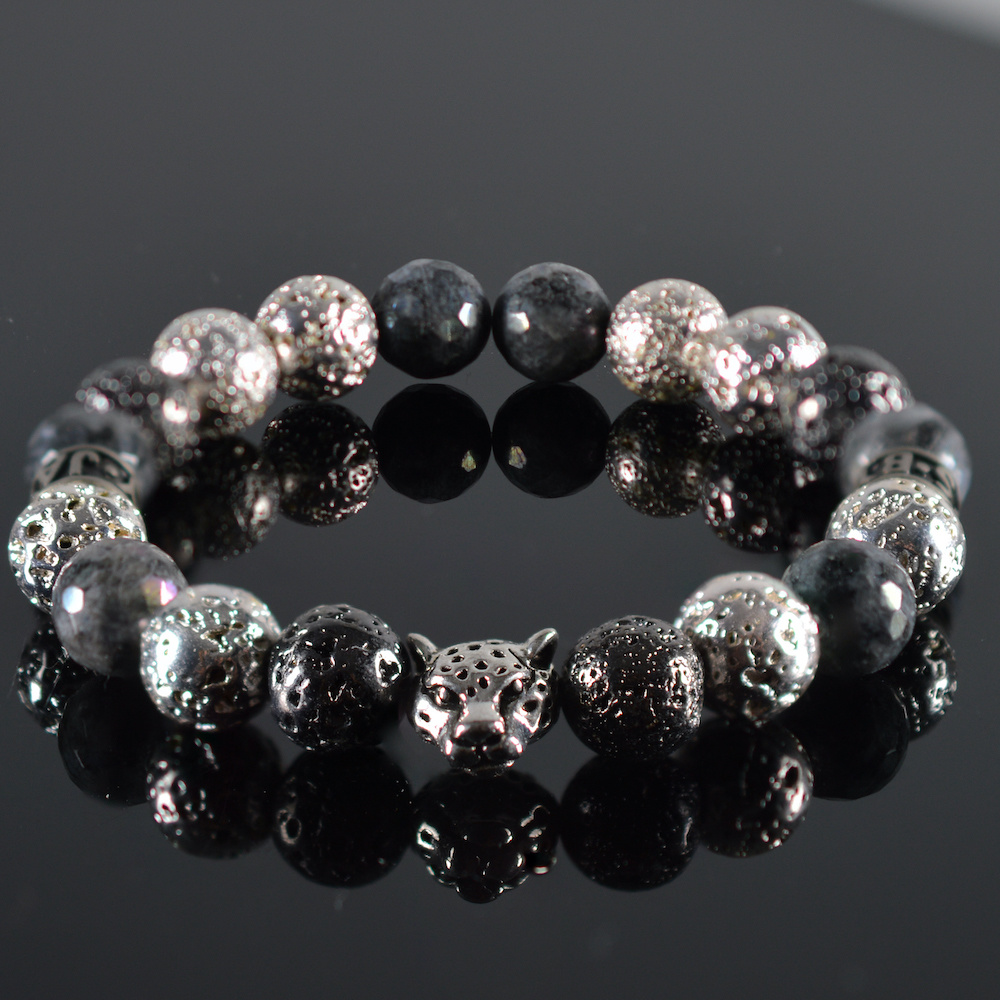 JayC's Bracelet Men Madre Panter