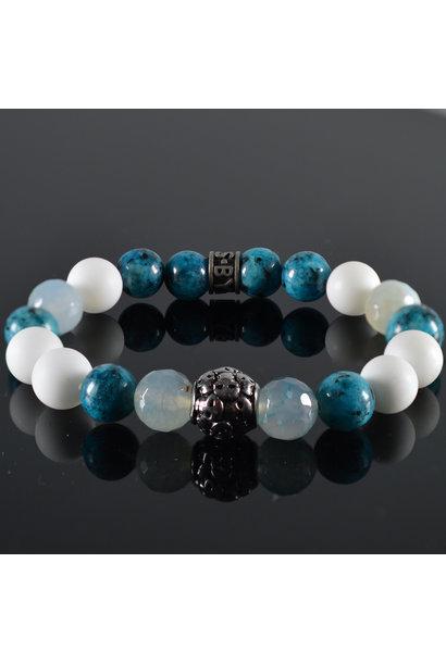 Men's bracelet Revolve Skull