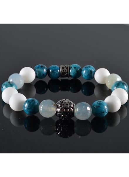 JayC's Men's bracelet Revolve Skull