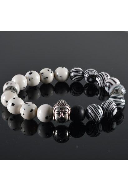 Heren armband Spicy Buddha