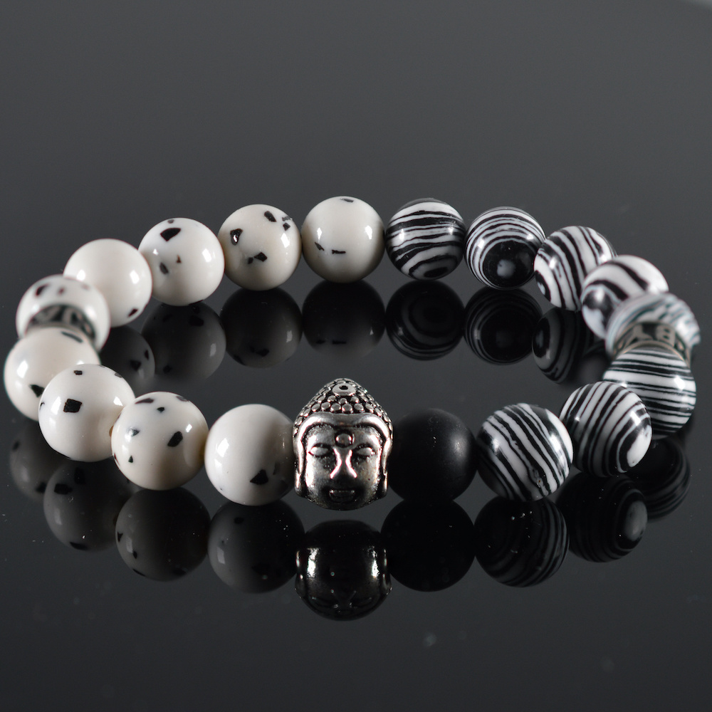 JayC's Bracelet men  Spicy Buddha