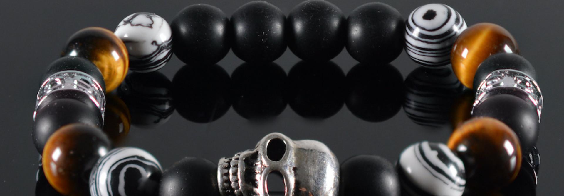 Armband kids Jongens Pedro Skull