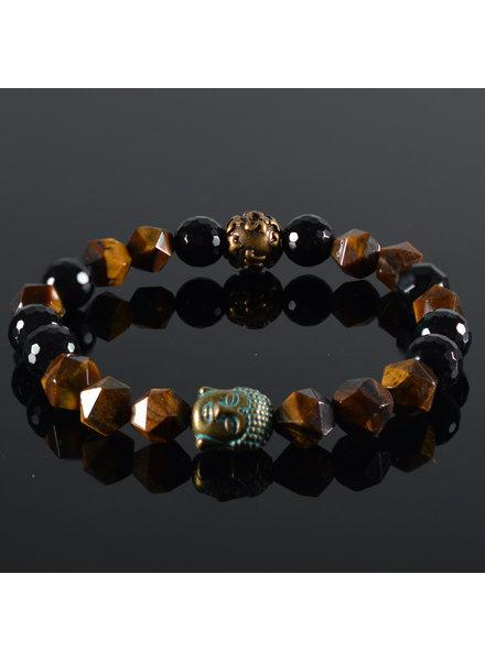 JayC's Dames armband Buddha Chestna