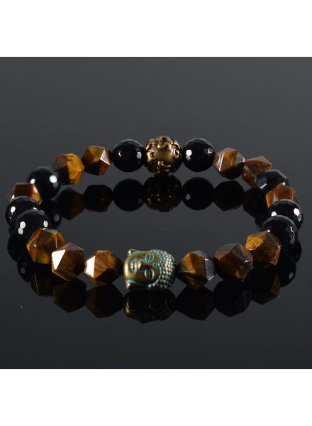 JayC's Ladies Bracelet Buddha Chestna