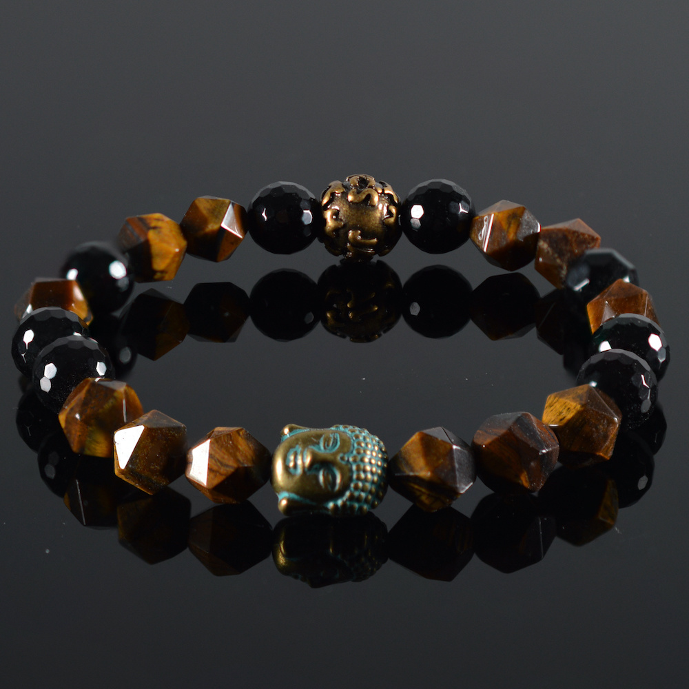 JayC's Armband dames Buddha Chestna