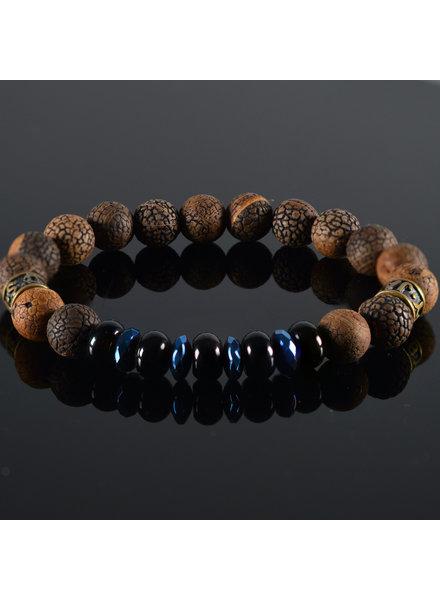 JayC's Men's bracelet Blu Heaven