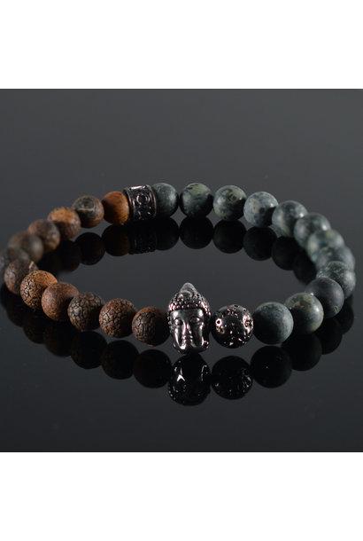 Heren armband Cavan Buddha