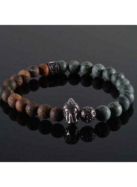 JayC's Men's bracelet  Cavan Buddha