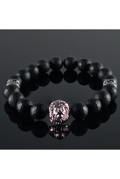 Leeuwenkop Heren armband Mitchell