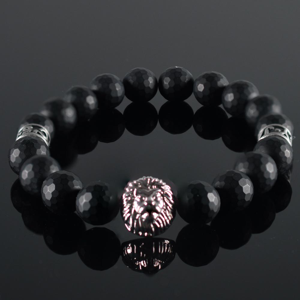 Leeuwenkop Armband heren Mitchell-1