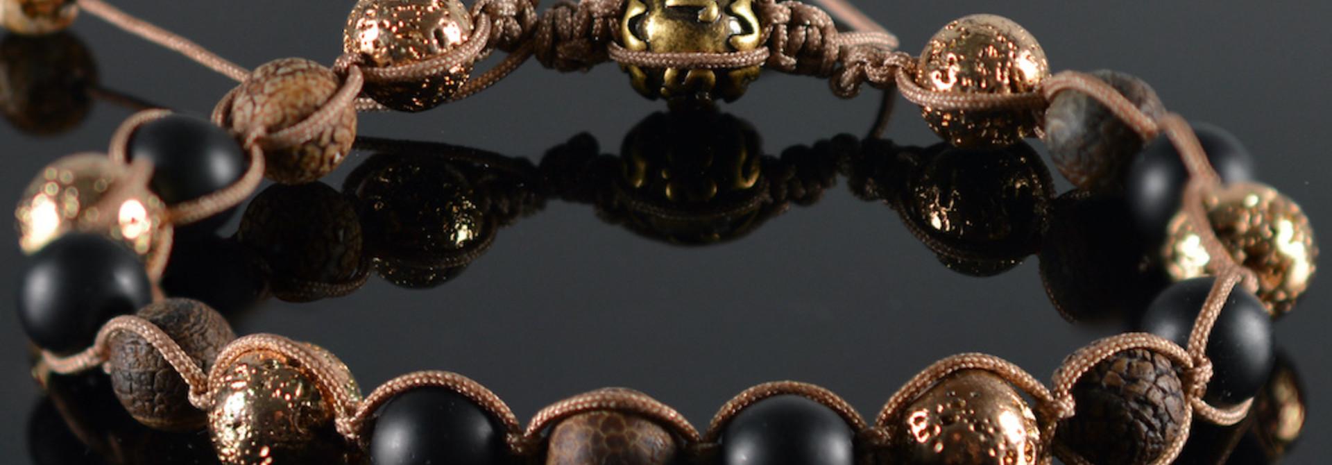 Shamballa Armband heren Ari