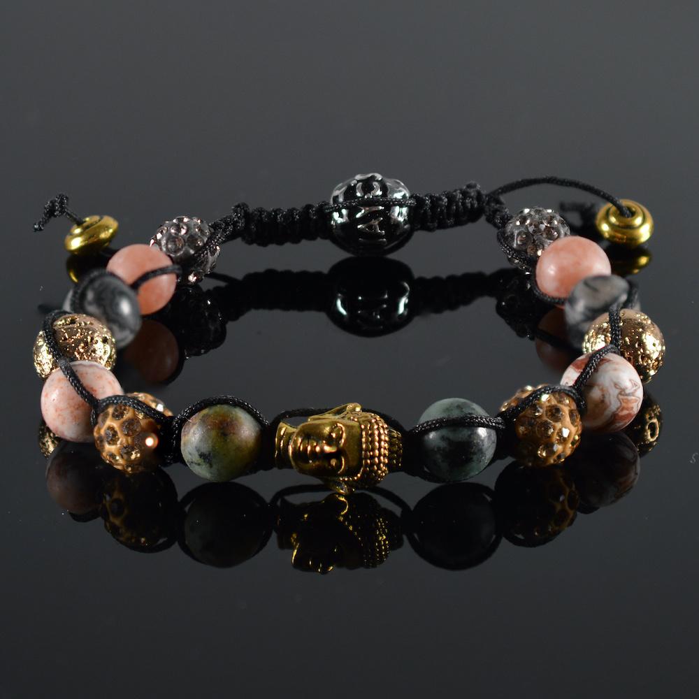 JayC's Shamballa Armband dames Yaya